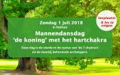 Biodanza-dansdag voor mannen: 'De koning' met het hartchakra 1 juli